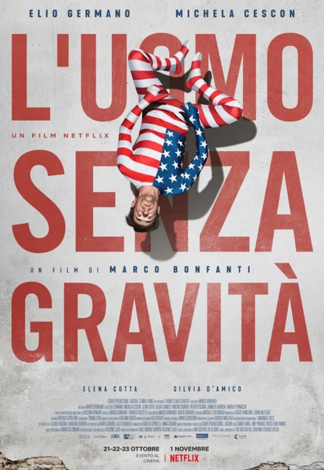Resultado de imagem para The Man Without Gravity Marco Bonfanti poster